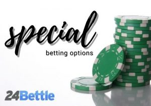 special betting options of 24bettle casino